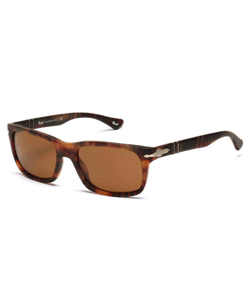 Persol 3048-S 9007 33 Caffe 55-19-145 Rectangle Unisex Sunglasses - Buy Persol  3048-S 9007 33 Caffe 55-19-145 Rectangle Unisex Sunglasses Online at Low ... a18473b218e2