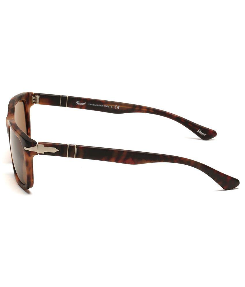 ... Persol 3048-S 9007 33 Caffe 55-19-145 Rectangle Unisex Sunglasses ... 3e3ae0e9bc16