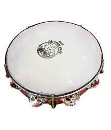 V.s musicals khanjri tamborine indian musical instrument