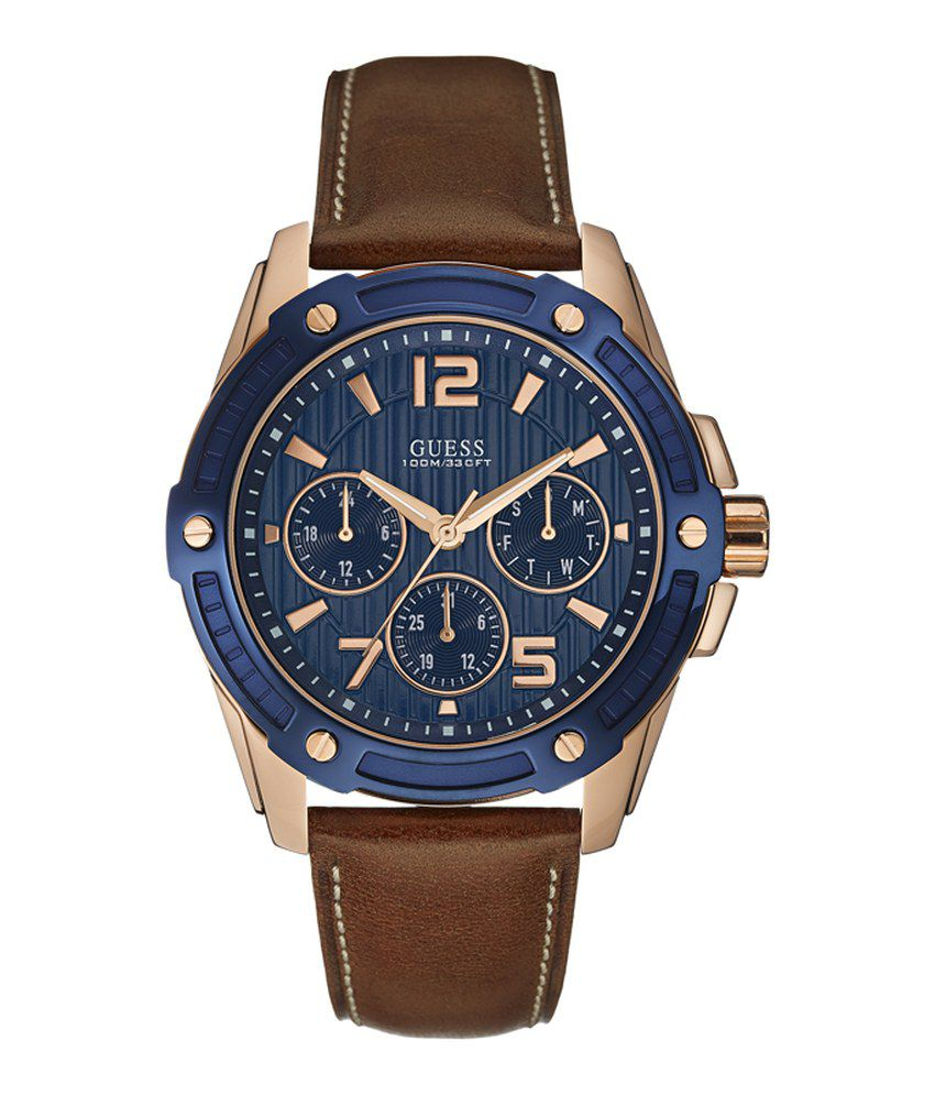 10215d548 Guess Blue Analog-Chronograph Round Watch For Men W0600G3 - Buy Guess Blue  Analog-Chronograph Round Watch For Men W0600G3 Online at Best Prices in  India on ...