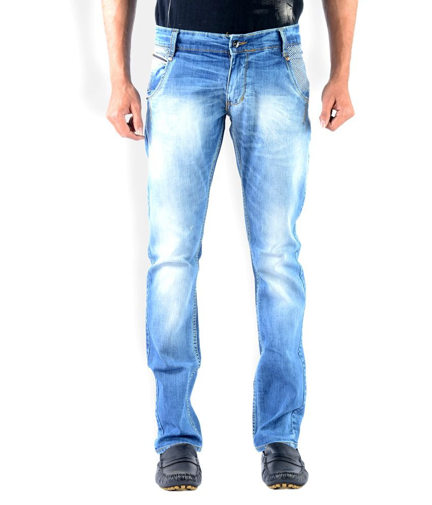 Vintage Bandit Light Blue Slim Fit Jeans