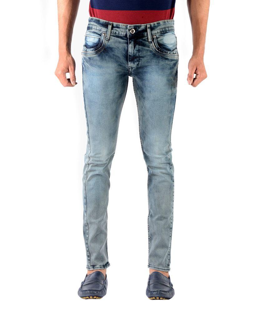 Vintage King Jeans Blue Super Slim Fit Jeans