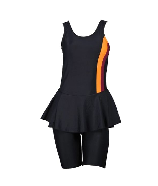 Champ Black Padded Swimsuit/ Swimming Costume