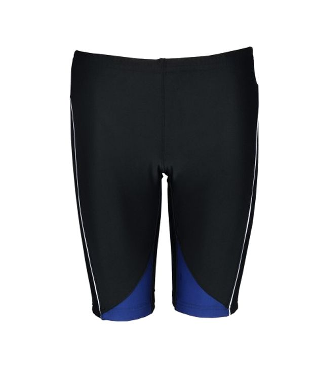 Champ Men Black Swimming Jammer/ Swimming Costume