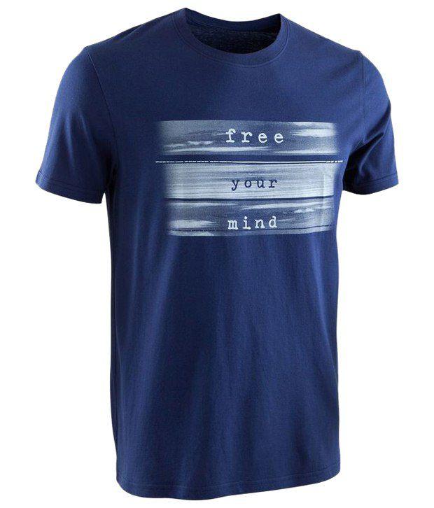Domyos Blue Sportee T Shirt for Men