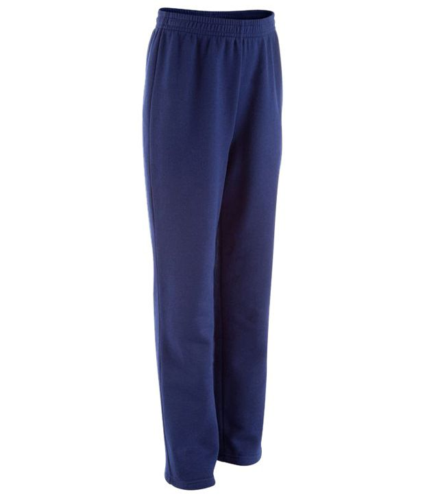 Domyos Blue Warmy Fitness Trousers for Boys
