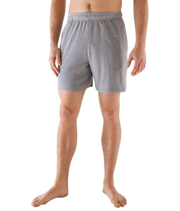 Domyos Gray Sports Shorts for Men