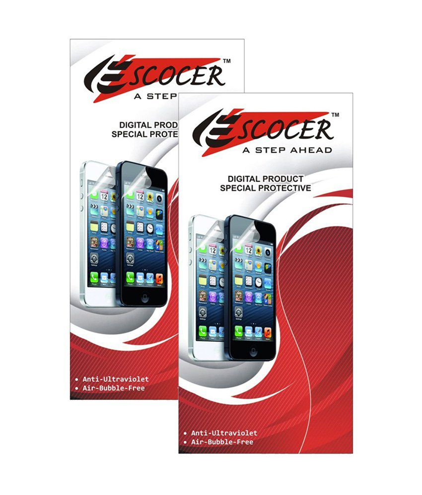 Micromax Bolt A36 Clear Screen Guard by Escocer