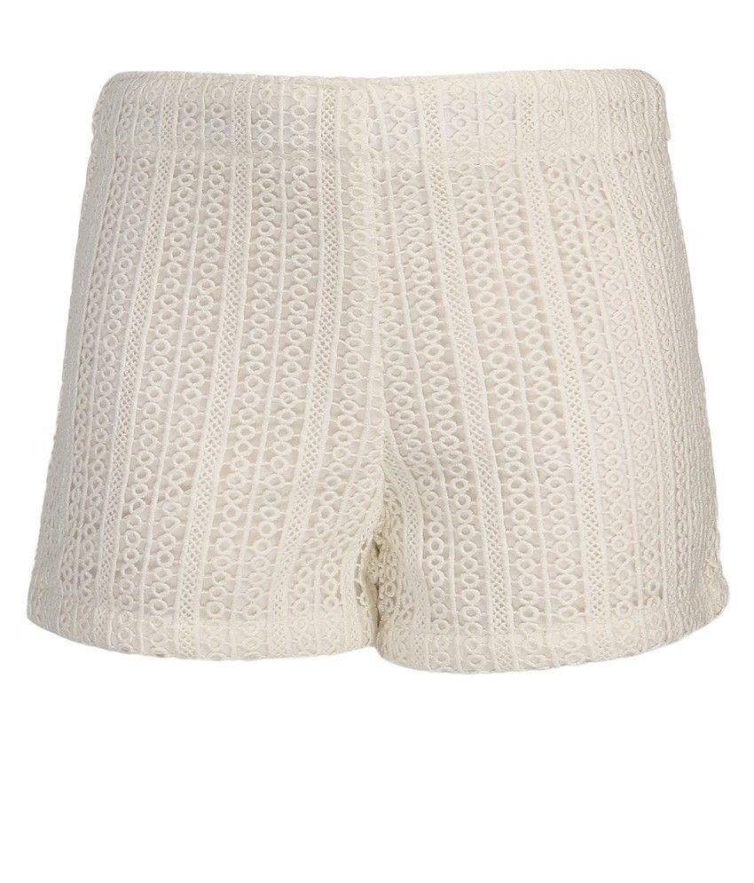 Bells and Whistles Pretty Crochet Shorts