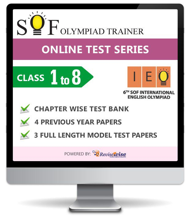 IEO Online Study Package Class I to VIII by SOF Olympiad