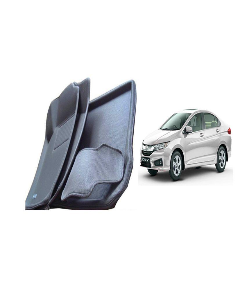 Autokit 3d mat floor mat foot mats car mat black colour for honda