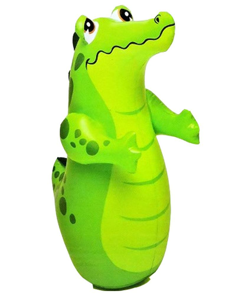 Intex Inflatable Intex Inflatable Plastic Hit Me Crocodile