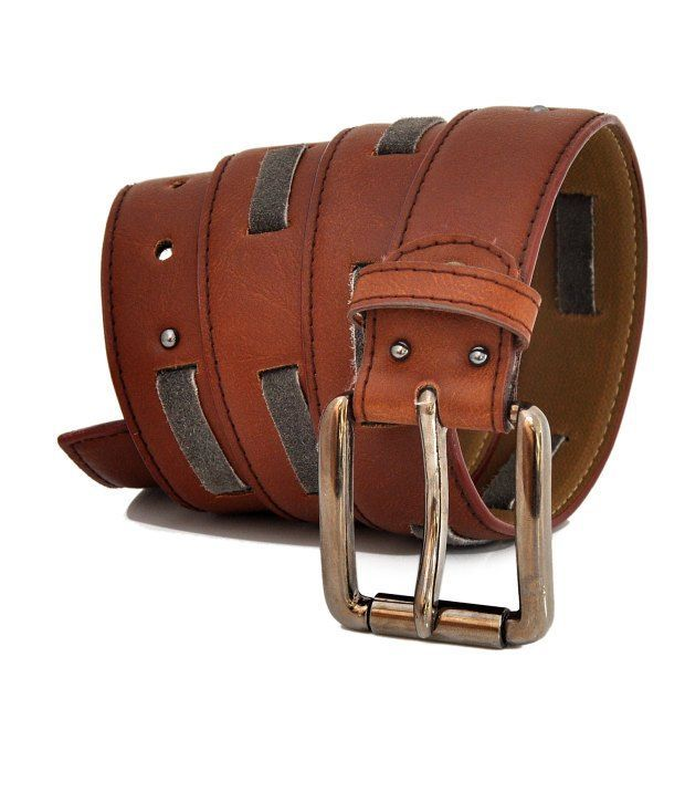 Stylox Brown Leather Belt