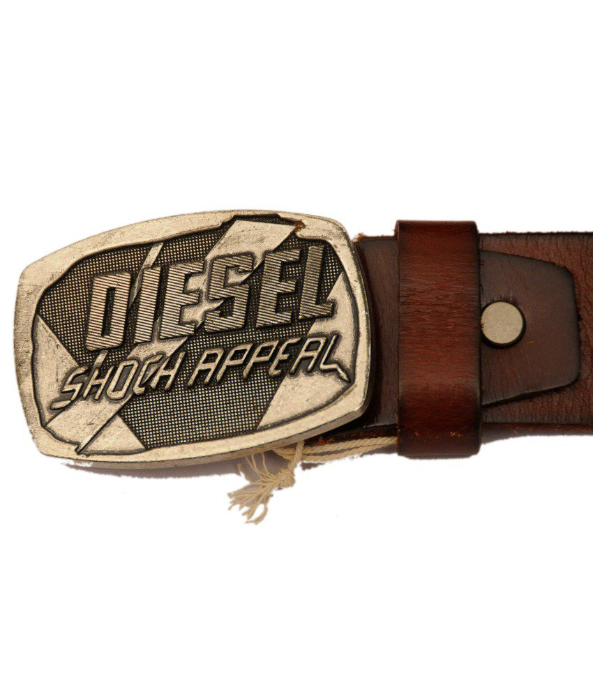 High Quality Tan Leather Casual Belt