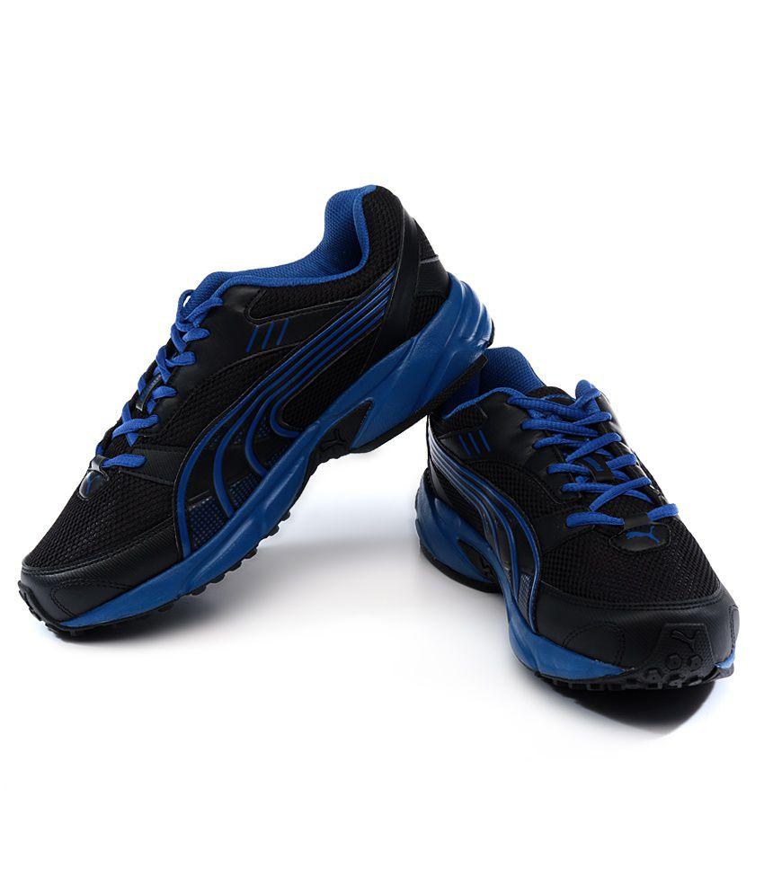 Puma Pluto DP Black Running Shoes - Buy Puma Pluto DP Black Running ... 4e7e3c95b