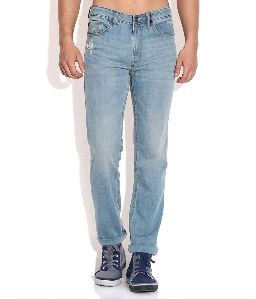 American Swan Blue Regular Jeans