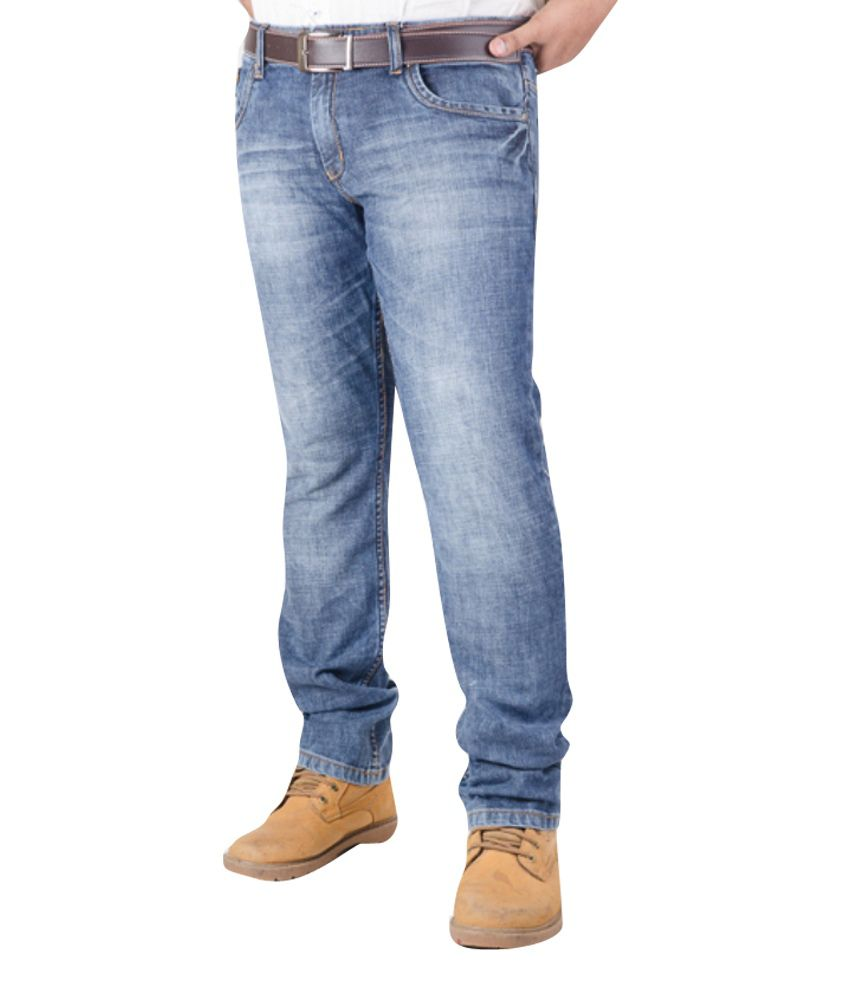 CORE 69 Blue Cotton Jeans