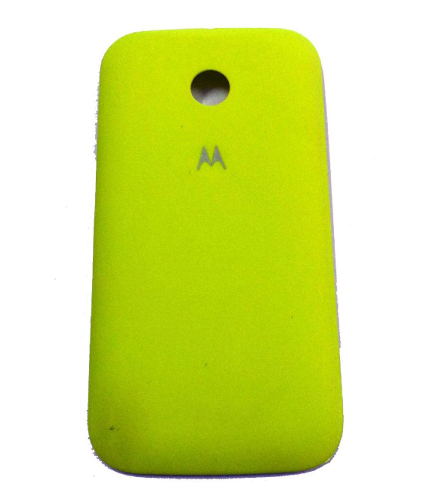 competitive price 221b8 ba893 Eshop24x7 Yellow Replacement Battery Door Panel Housing Back Cover ...