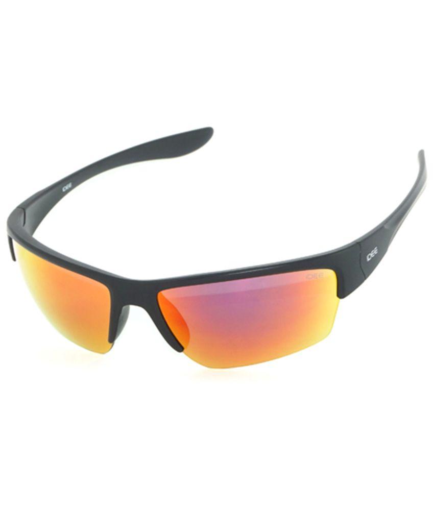 Idee Red Multicolor Sport Sunglasses