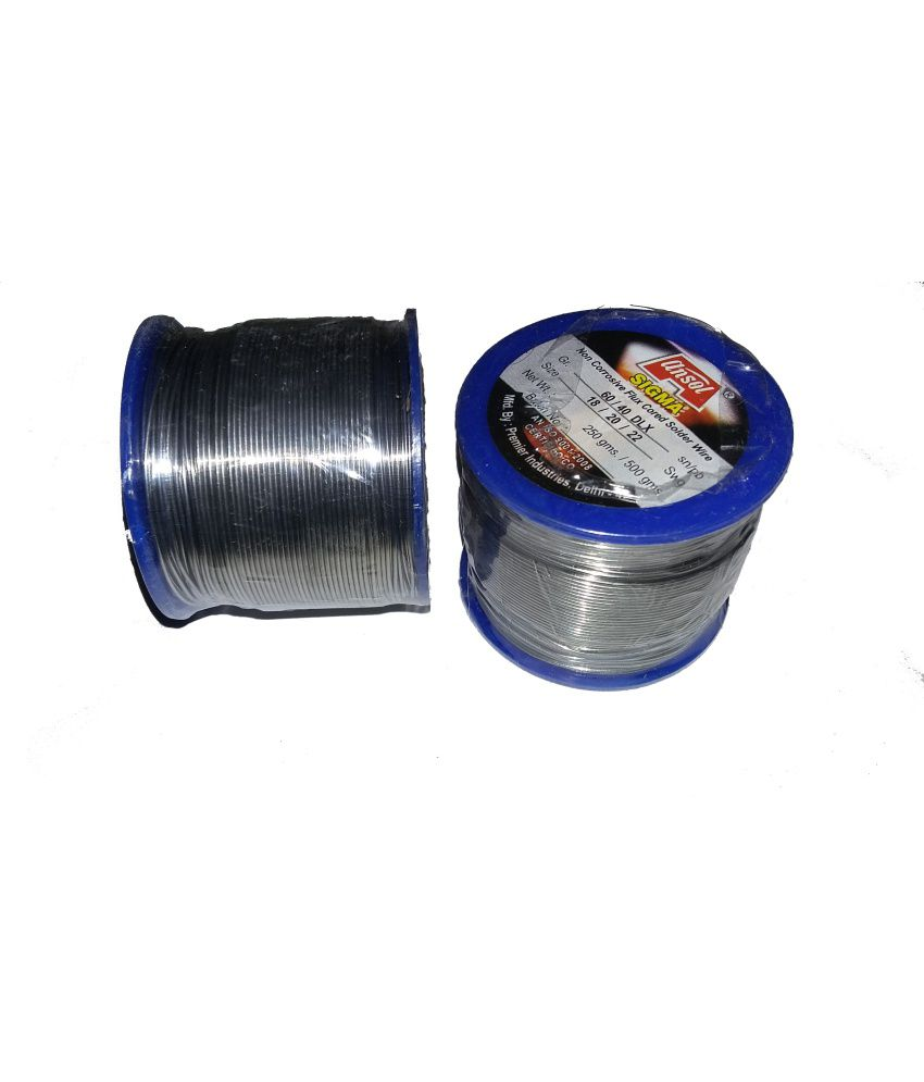 Easy Electronics Solder Wire - 250 gm Rill (60/40) 22 SWG: Buy Easy ...