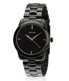 Sonata Black Formal Wrist Watch For Men