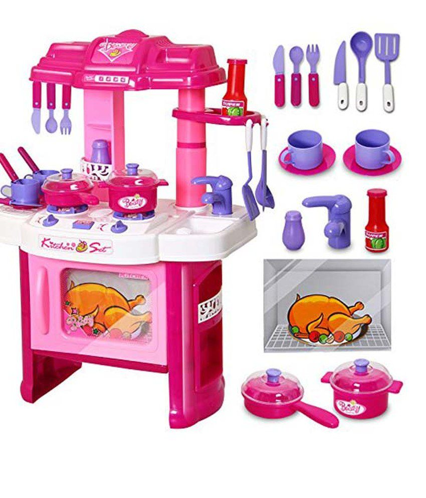 Kitchen Set Online: Kids Play Pretend Kitchen Set