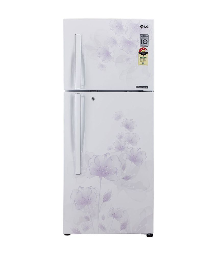 LG 258 Ltr. GL-2292JPFL Frost Free Double Door Refrigerator Pearl florid