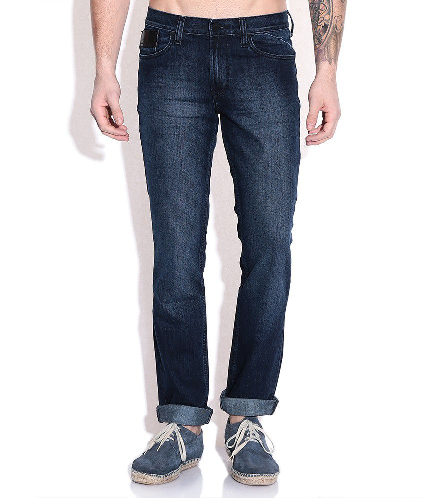 Mossimo Blue Slim Fit Jeans