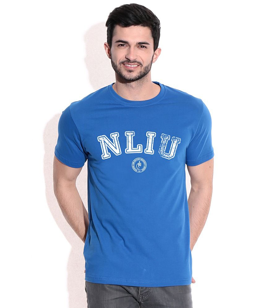 NLIU Varsity Royal Blue CampusMall T-Shirt