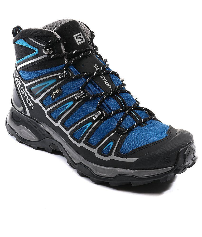 Salomon Mid X Ultra Black Shoes 2 Gtx Sport FTlK1Jc