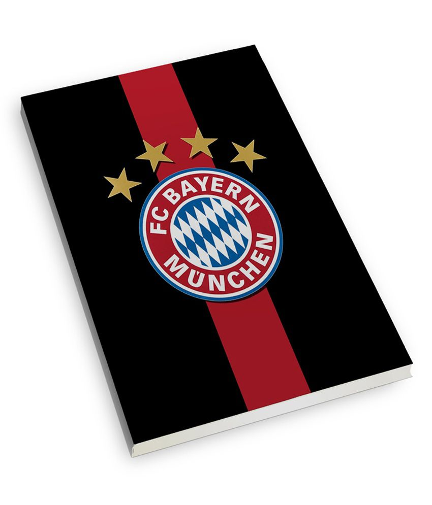 official photos 77118 afc14 The Flappy Store Fc Bayern Munich Multi Color Soft Cover A5 ...