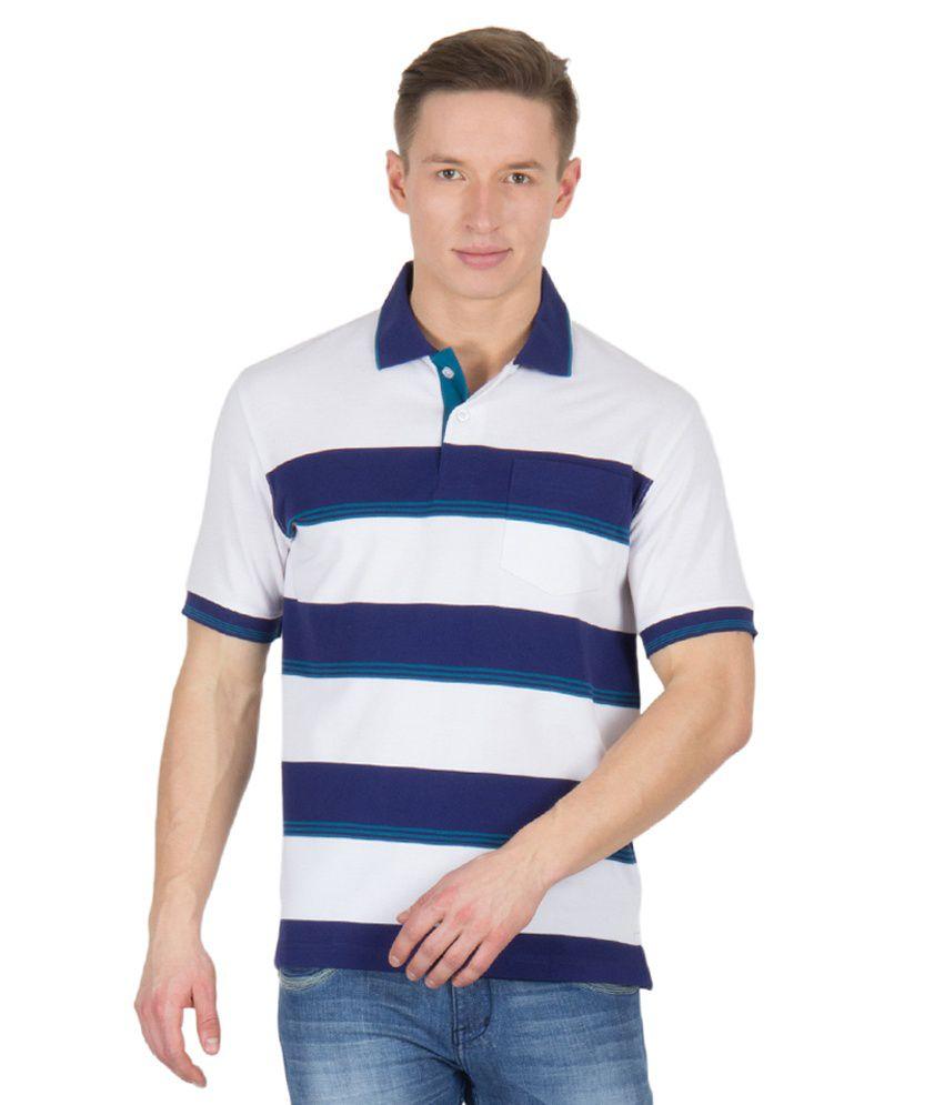 Wilkins & Tuscany 11621 Stylish White T-shirt