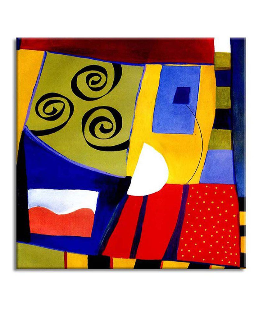 Painting Mantra Abstract Painting Canvas Print Wall Hanging