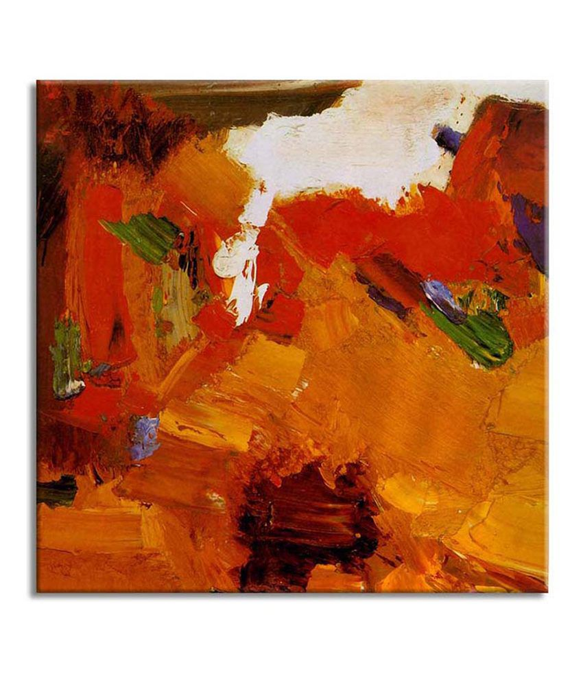 Painting Mantra Modern Abstract Painting Canvas Print Wall Hanging