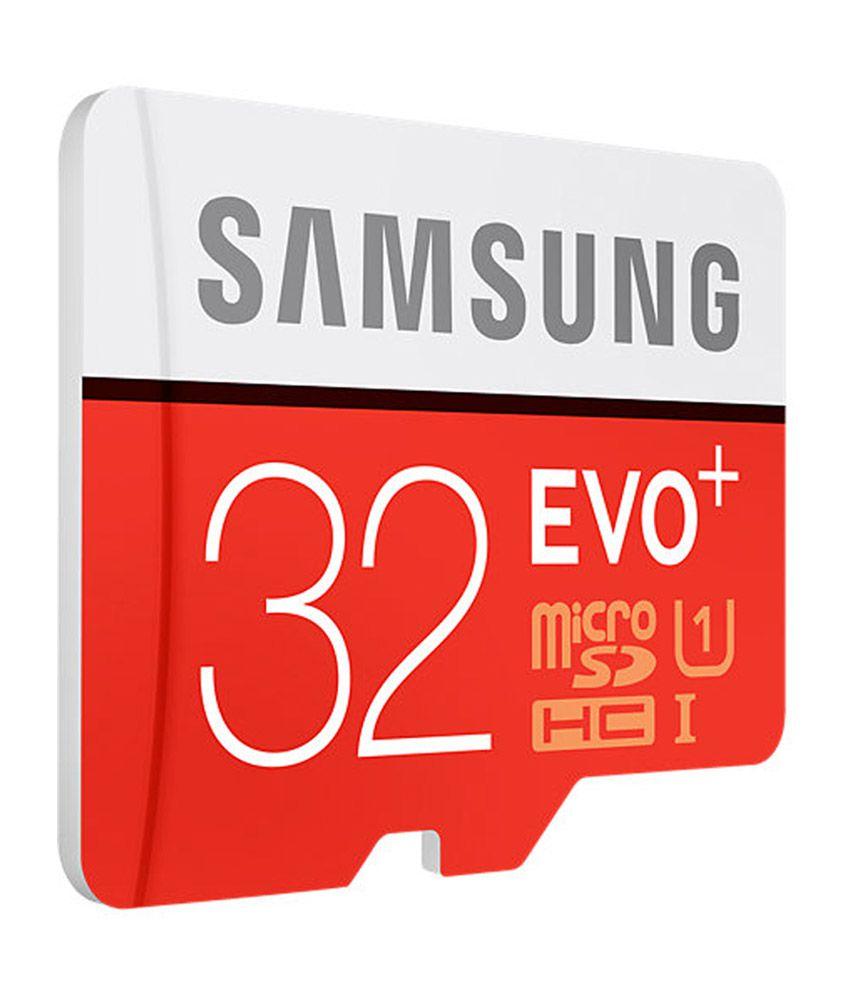 32 gig memory -  Samsung Evo Plus Class 10 Uhs 1 32gb Microsdhc 95mb S Memory Card With