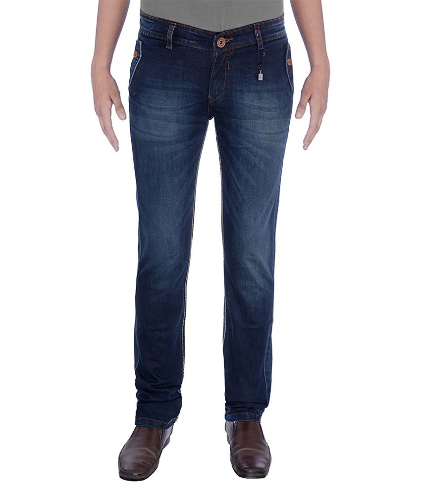 Urban Navy Strech Light Blue Jeans