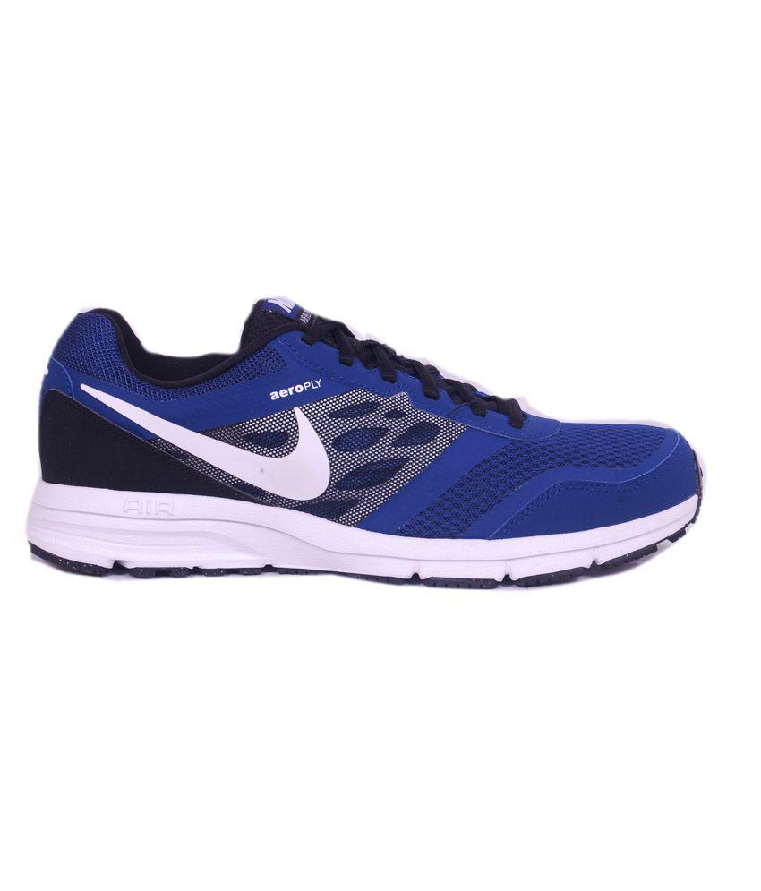 Nike Air Relentless 4 Msl Blue Running schuhe