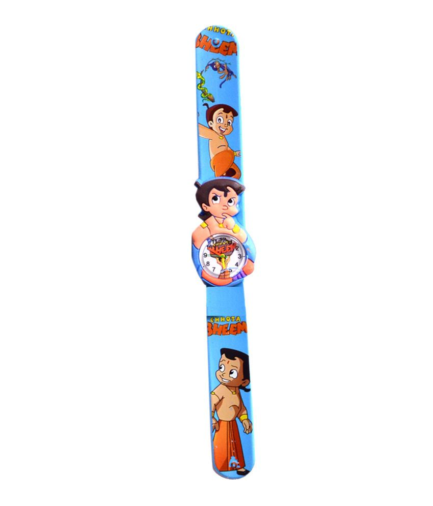 Vencer Stella Scaleband Kids Watch - Chota Bheem (Assorted Colors)