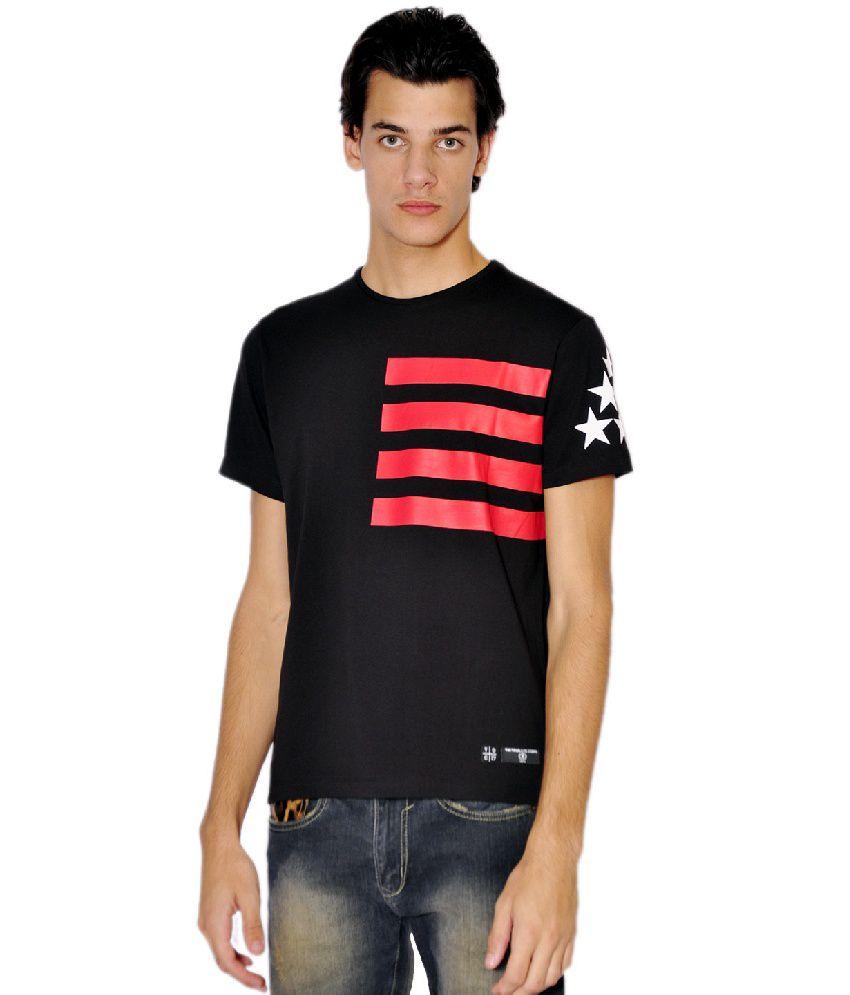 Tiktauli de. Corps. Cotton Black Bambistar T-Shirt