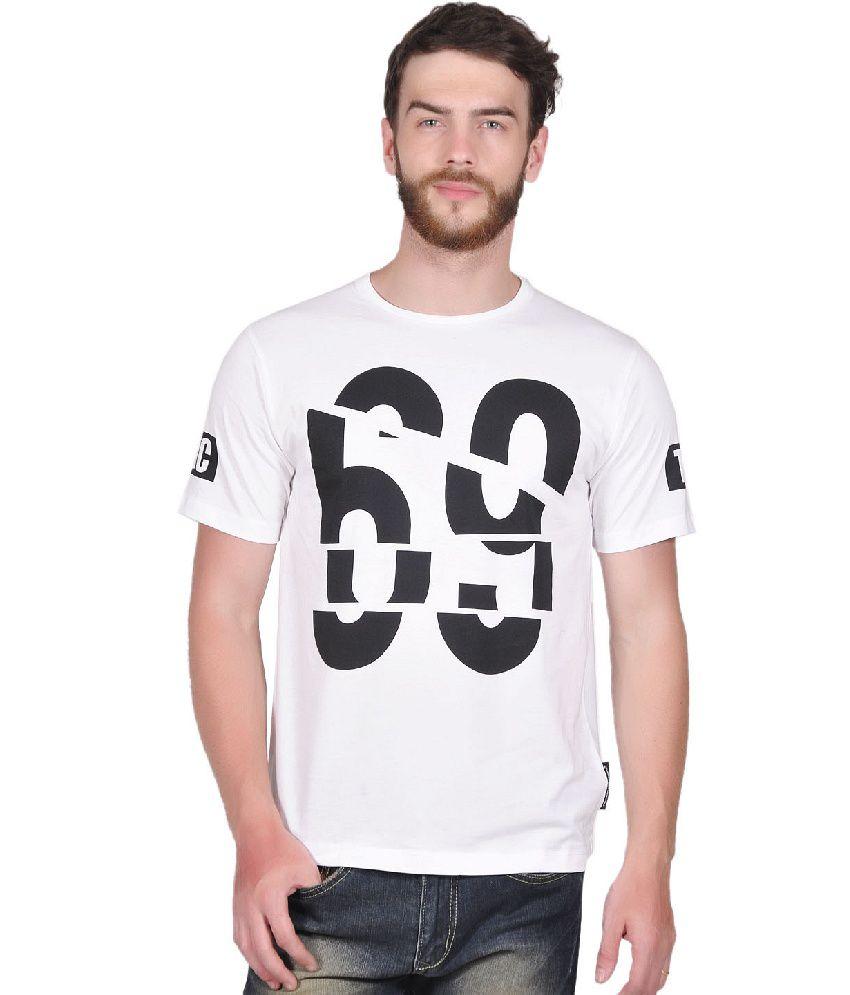Tiktauli de. Corps. Cotton White Cromer 69 T-Shirt