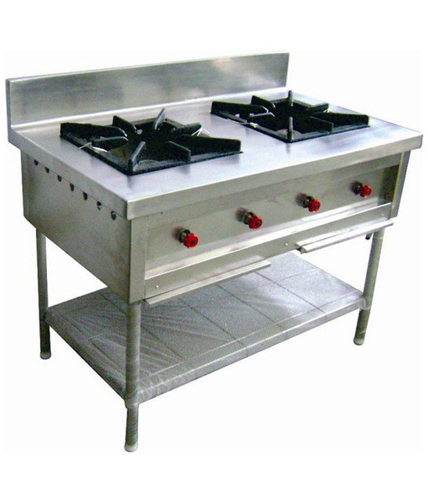 Moonstar Commercial Kitchen And Equipments Two Burner Gas