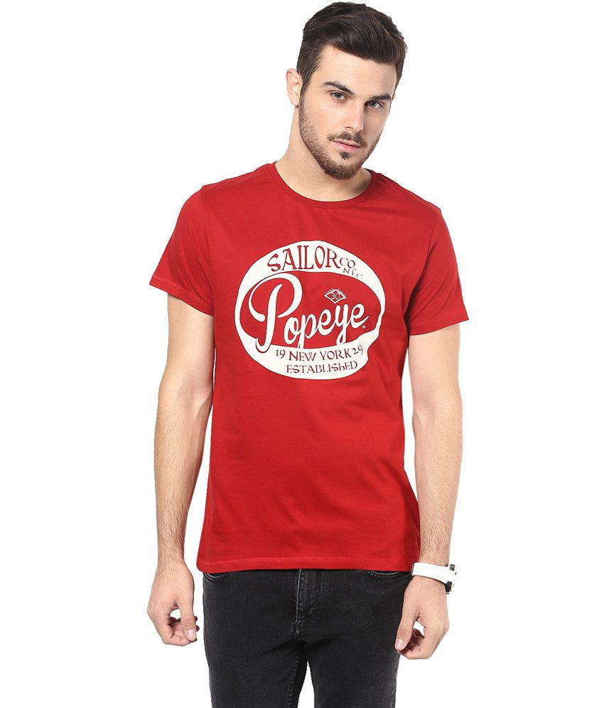 Henry and smith popeye sailor t shirt buy for Online tee shirt companies
