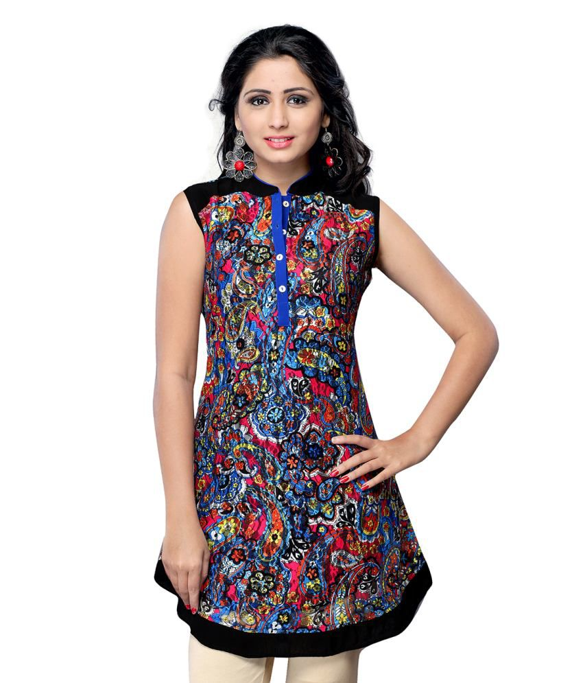 Vastrika Cotton Round Neck Kurti