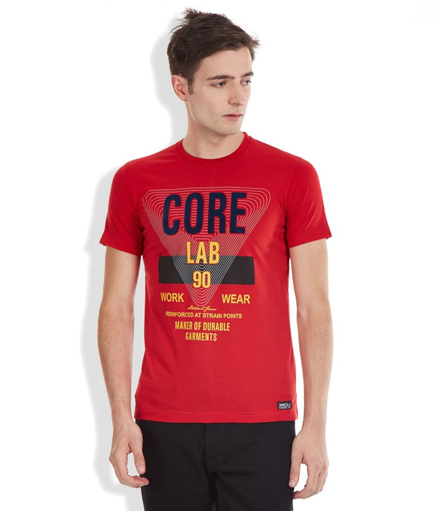 46706a5e Duke Stardust By Duke Red Round Neck T Shirt - Buy Duke Stardust By Duke  Red Round Neck T Shirt Online at Low Price - Snapdeal.com