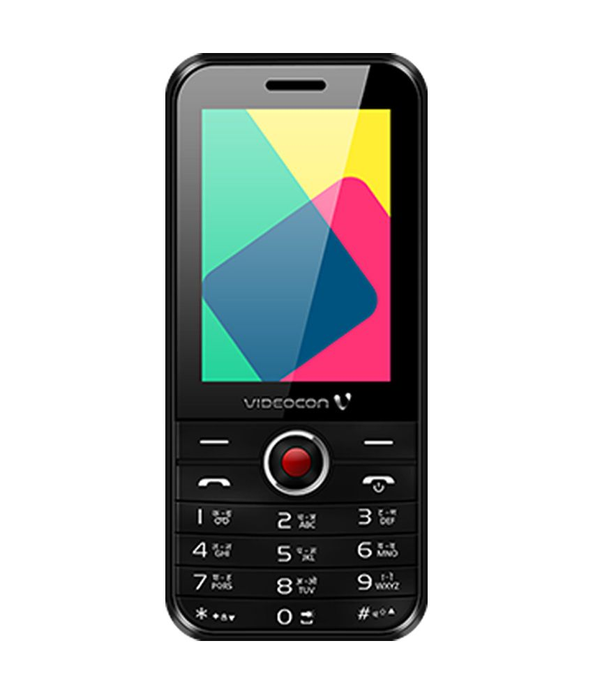 Videocon V1573 Dual Sim (Black) - Feature Phone Online at ...