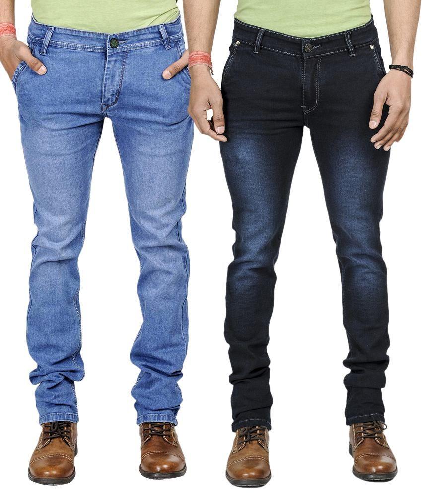 Eprilla Slim Fit Men's Jeans (Combo of 2)