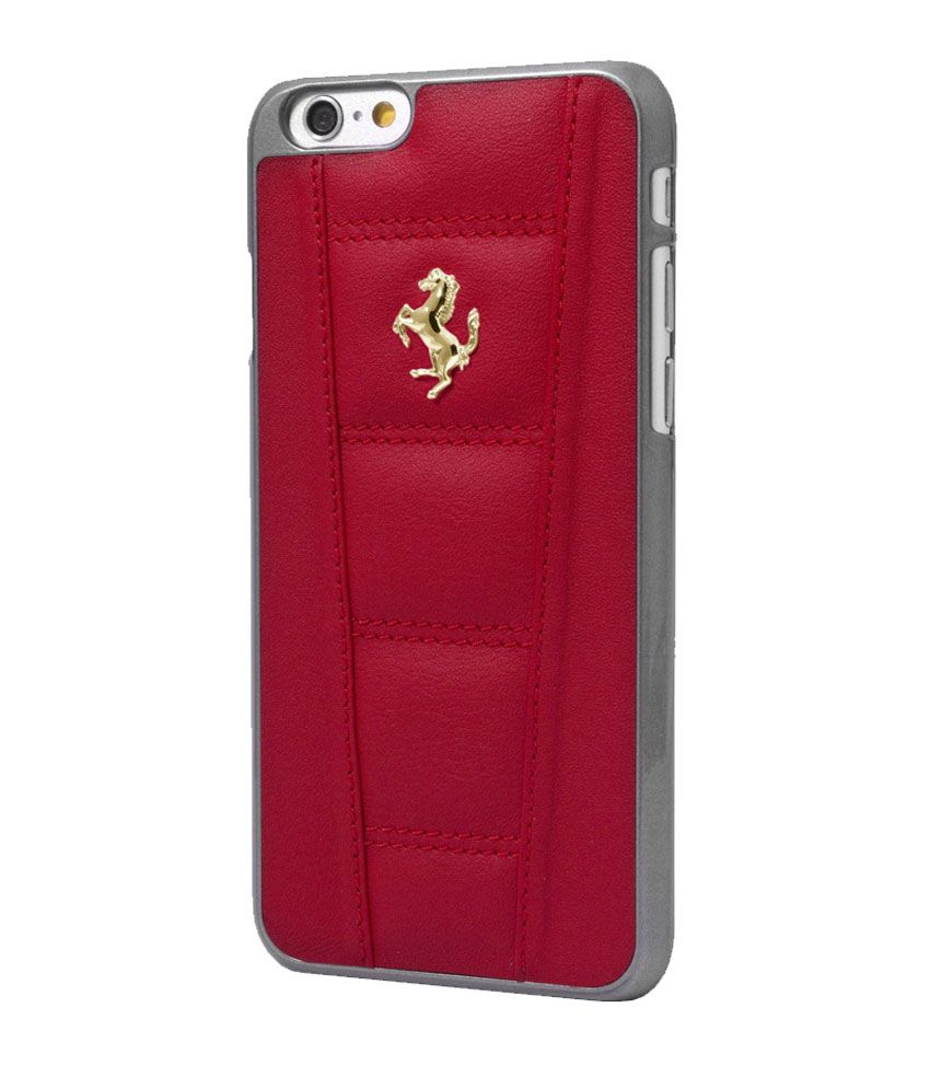 ferrari iphone 5/5s hard case - red - plain back covers online at
