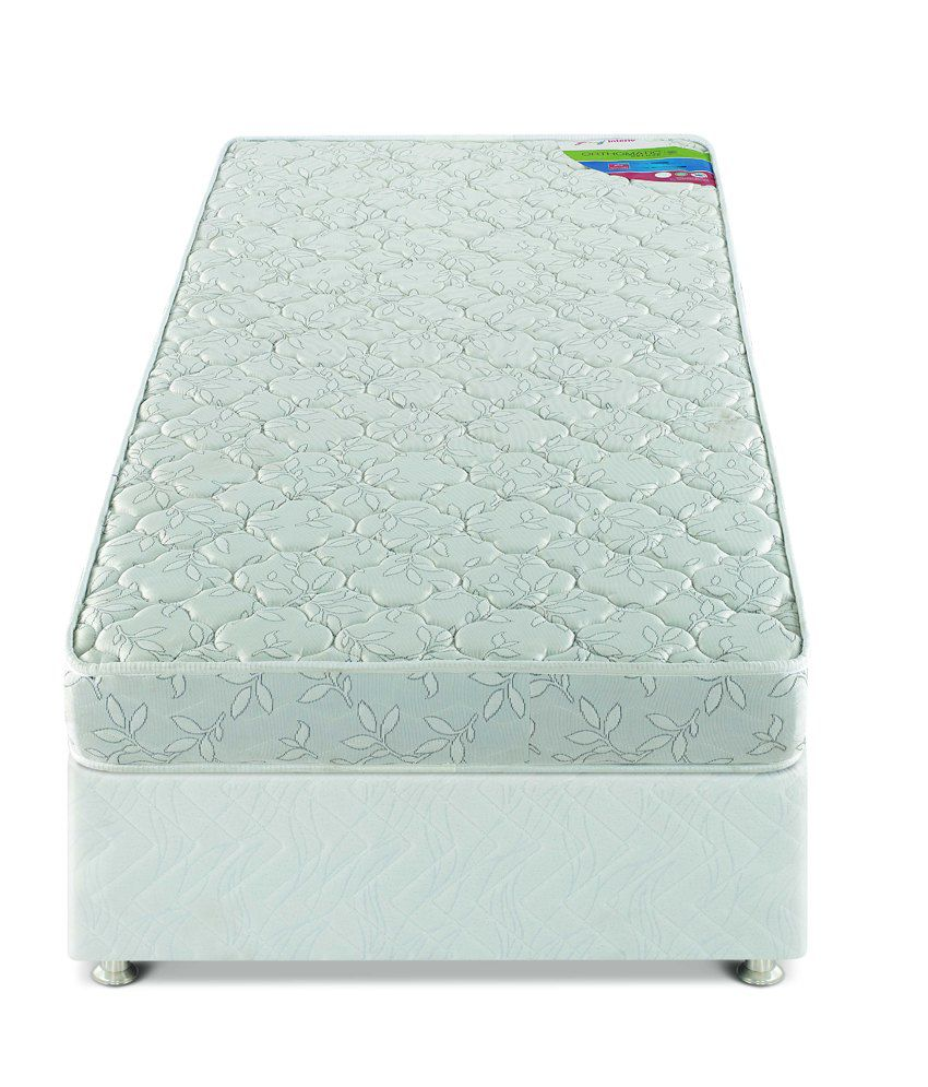godrej interio queen size orthomatic deluxe foam mattress 78x60x5