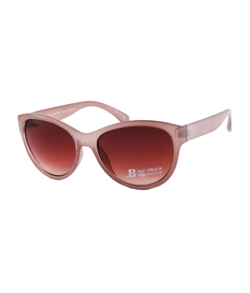 Joe Black Brown Cat Eye Sunglasses (JB-716-C1 )