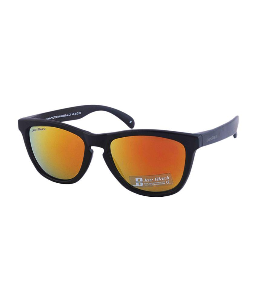 Joe Black Mustard Wayfarer Sunglasses (jb-555-c3)